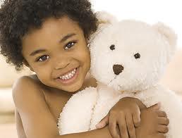 Web Bear 2 Beautiful Brown girl with bear.jpg
