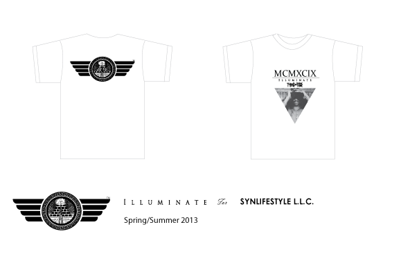Product Design (Illustrator, Photoshop, Haberdash Screen Printing)  Description: I blended influences from hip-hop culture and ancient Sumeriato brand my own limited line of t-shirts and other garments. The Sumerians were the first civilization on Earth and created the first language, cuneiform, which is pictured on the front of the tshirt.  AD (logo):  Karl Giles  Date:  January2013
