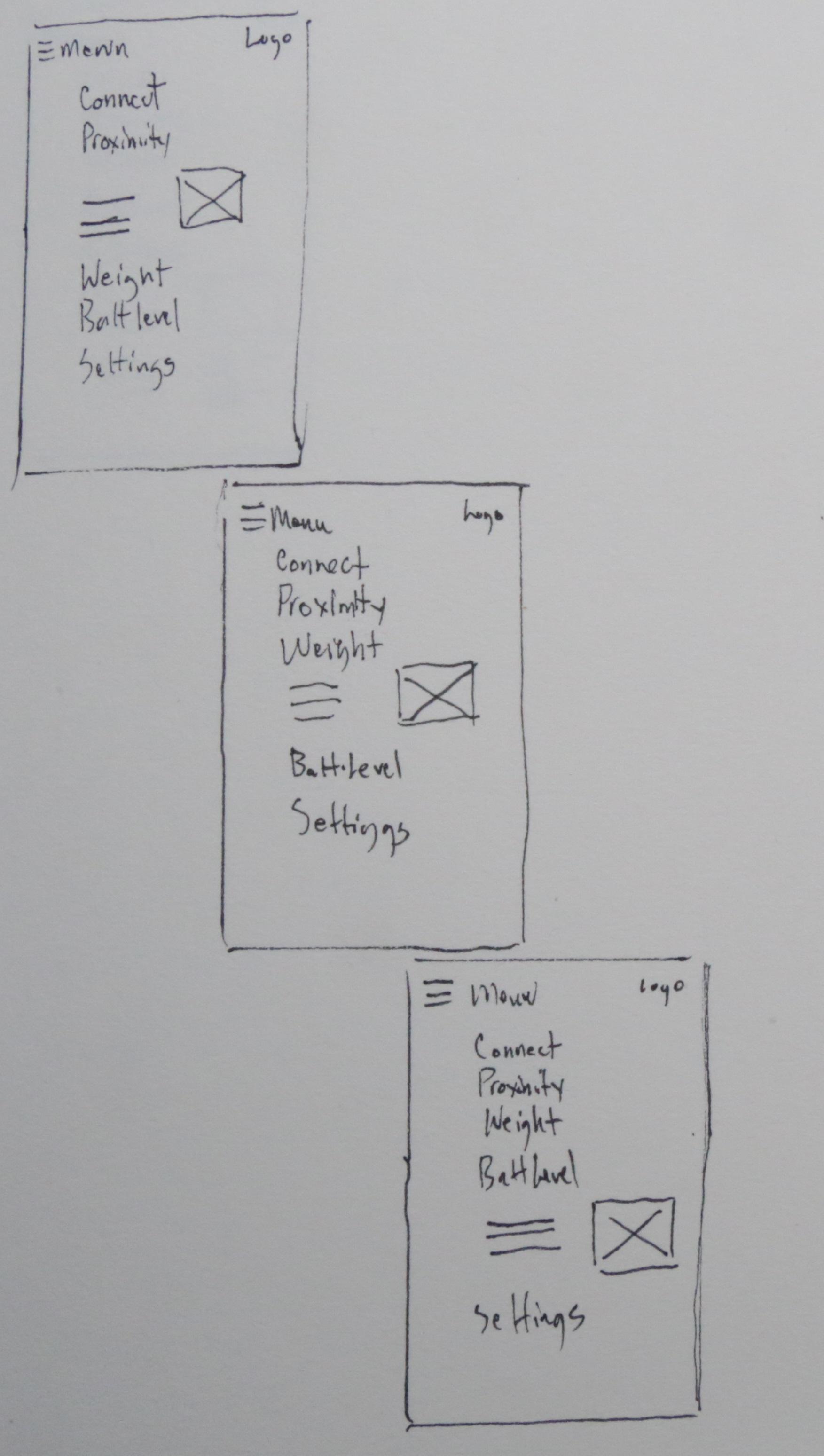 App Sketch Iteration 2