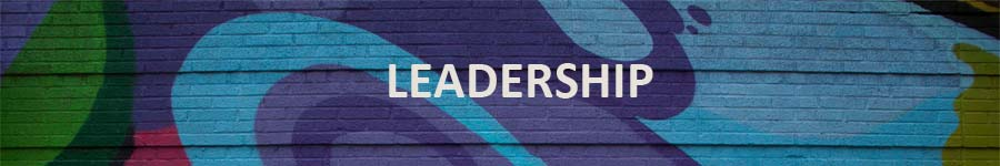 "Image Description: Banner which reads ""Leadership."""