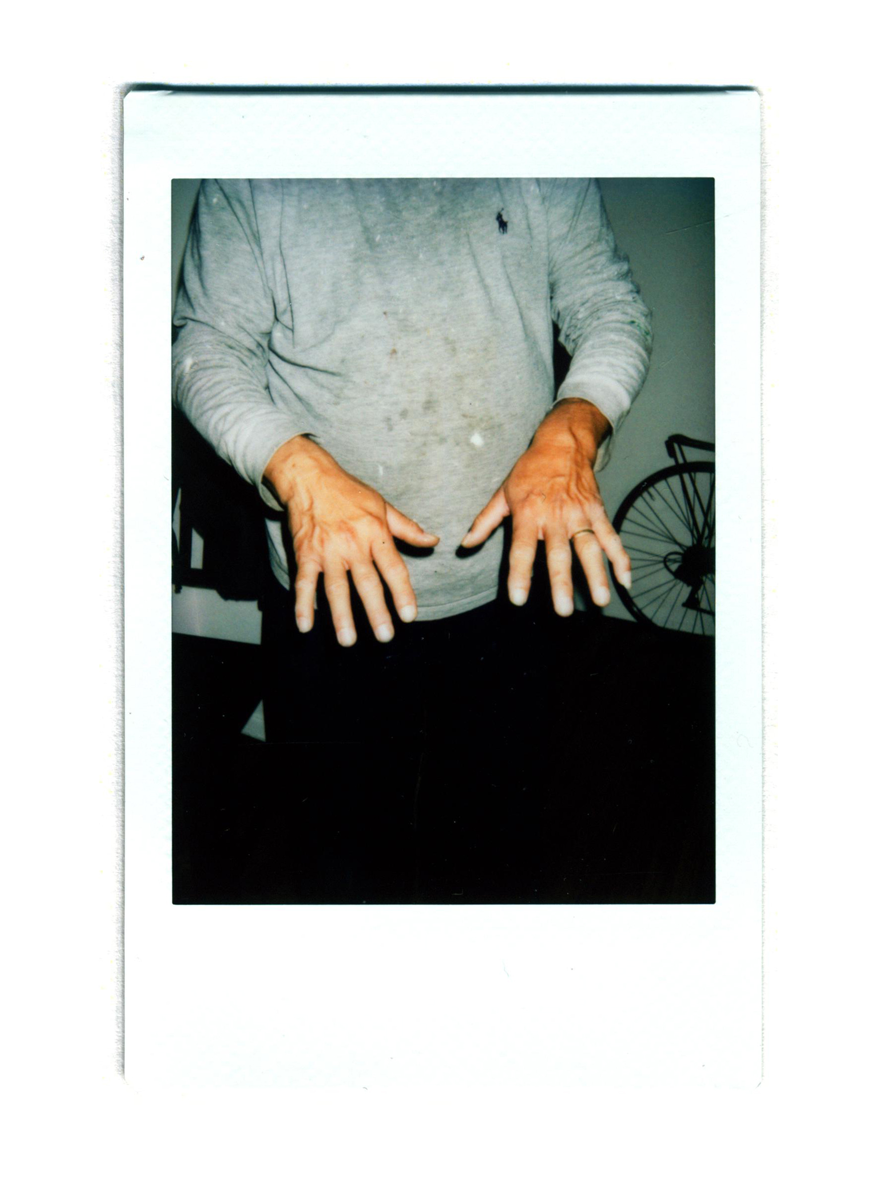 Maurito's Hands
