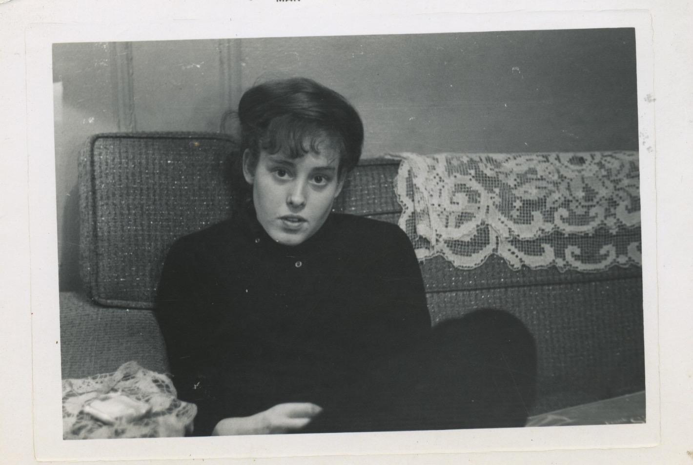 Lee in 1961. Image courtesy of Lee Zevy.