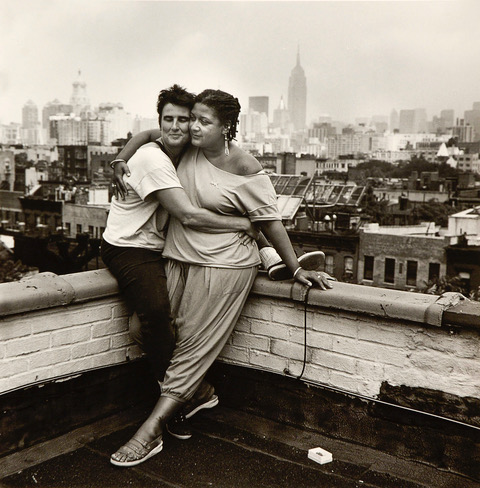 Jewelle Gomez and Marty Pottenger, NYC 1990. Image courtesy of Joyce Culver.