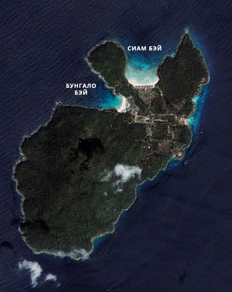 Карта Рача Яай
