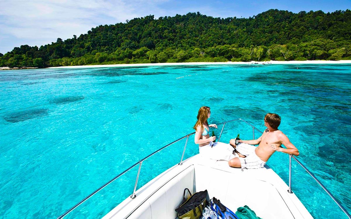 Остров Тачай - романтика