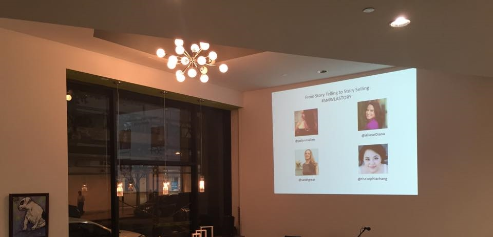 Presenting on Storytelling as Brand duringSocial Media Week LA 2014