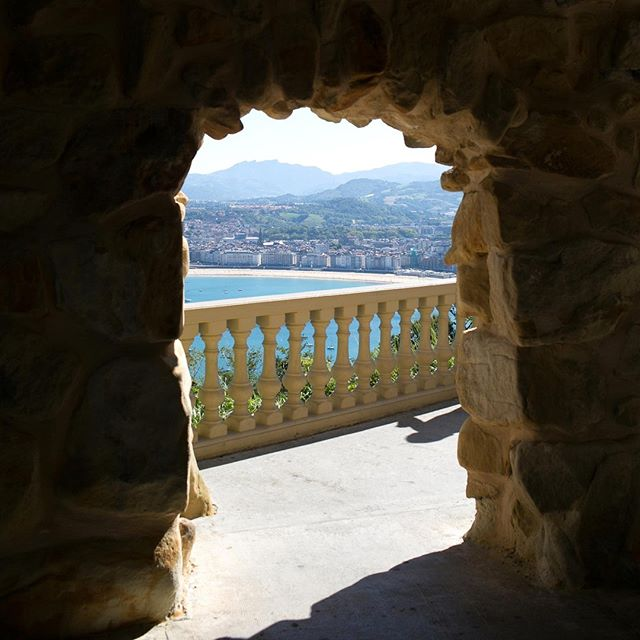 The view of San Sebastian from Monte Igueldo. #travelwithML