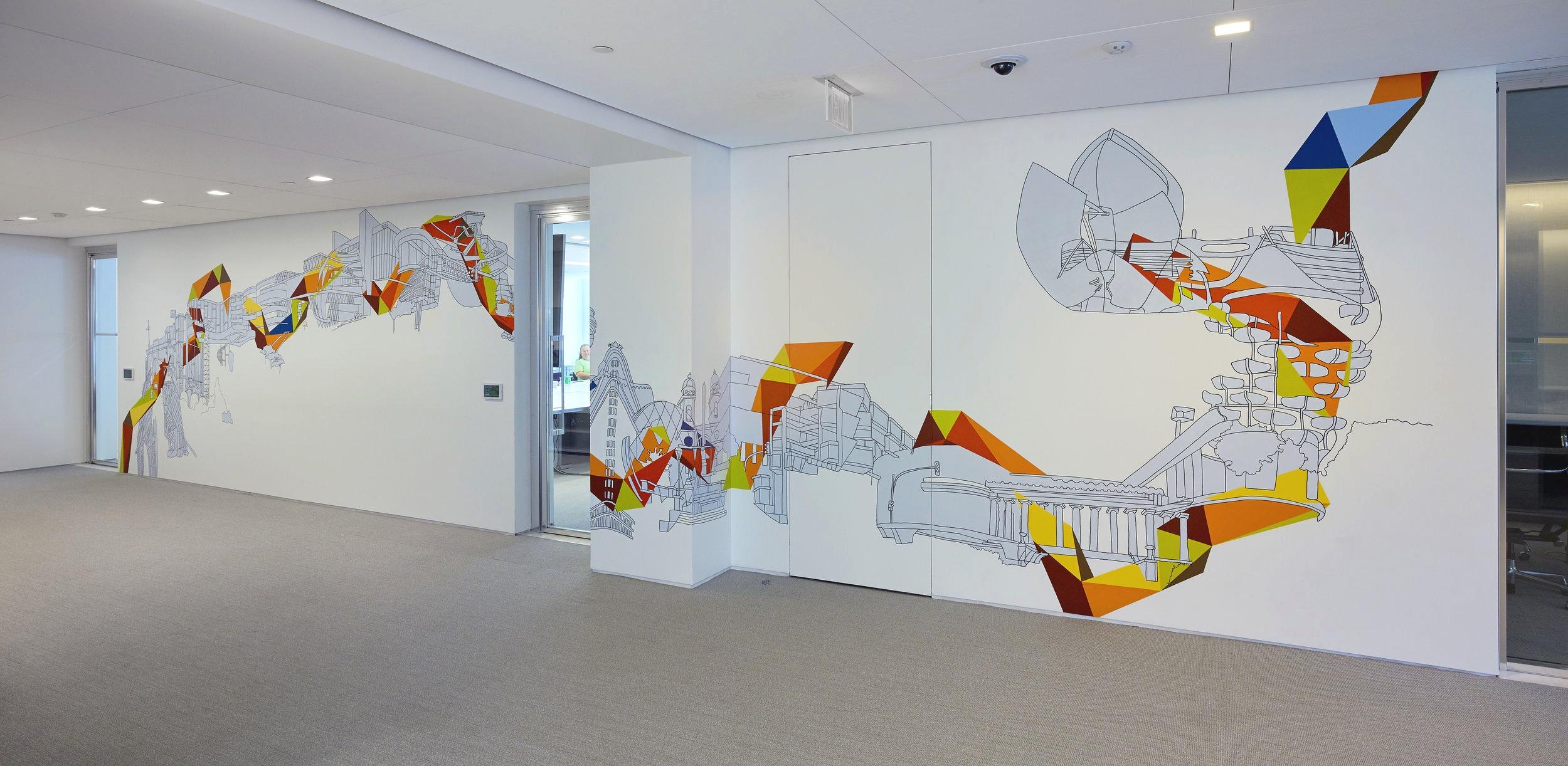 Wall Drawings Kim Schoenstadt