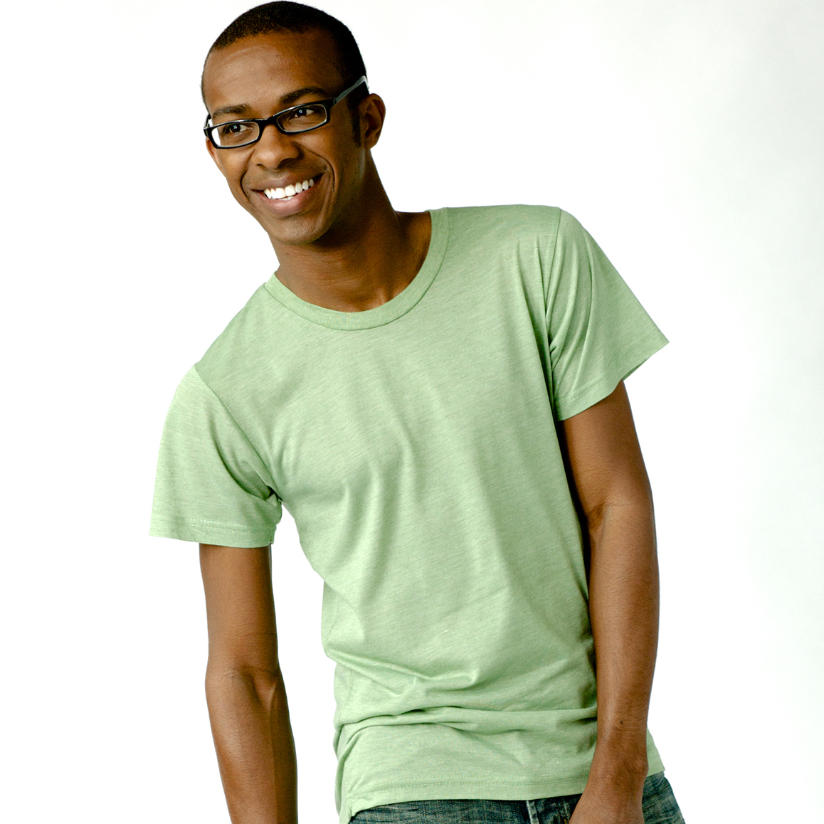 0241TC / TULTEX BLEND TEE   3.2 oz. 65% polyester / 35% cotton 40/1's fine knit jersey, side seamed, self-fabric collar, taped neck, double-needle sleeve and bottom hem, features a Tear Anywhere Label.      COLOR OPTIONS