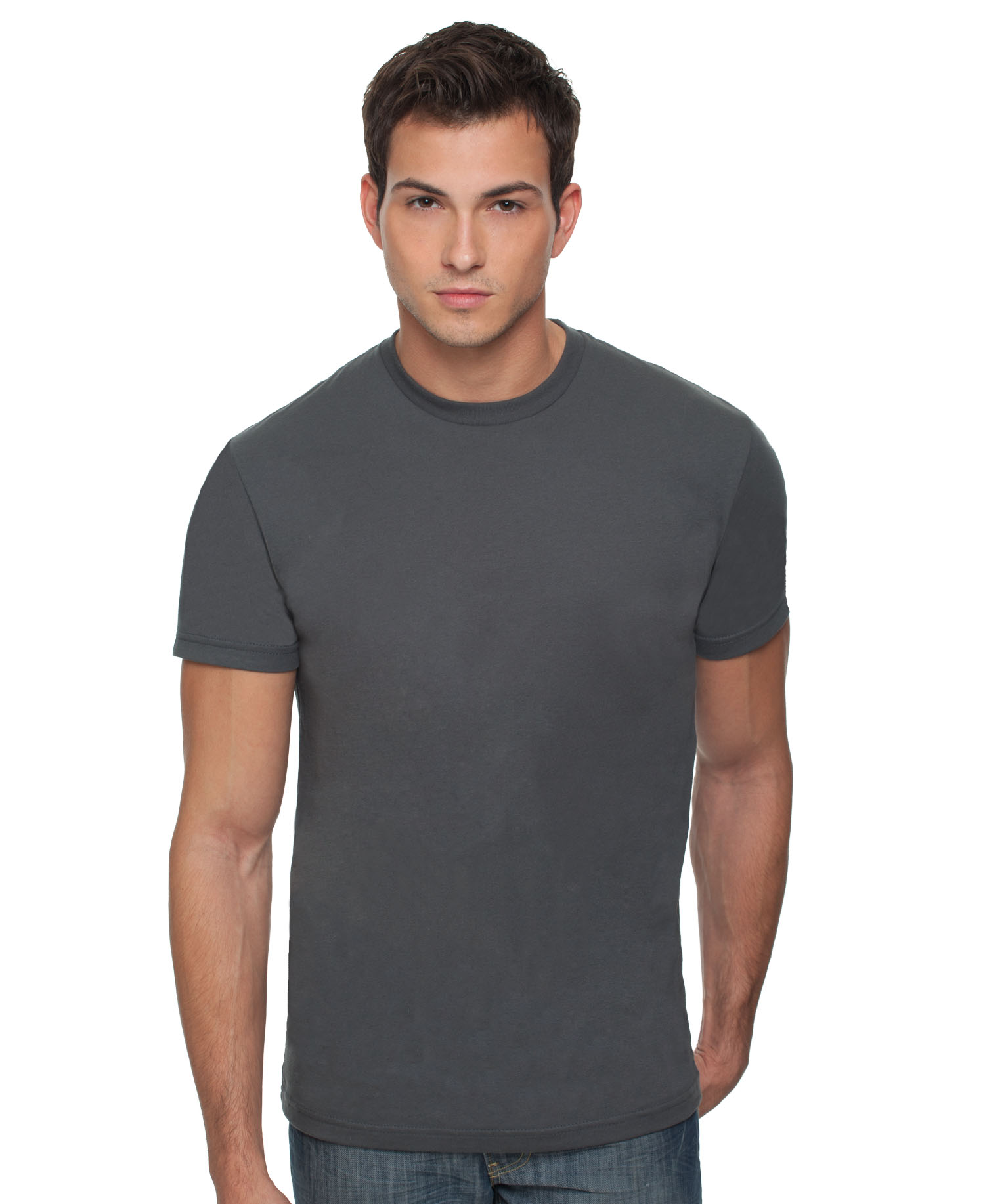 NL3600 / NEXT LEVEL PREMIUM FITTED TEE   4.3 oz. 100% combed cotton jersey  Set in collar 1x1 baby rib Tear away label       COLOR OPTIONS