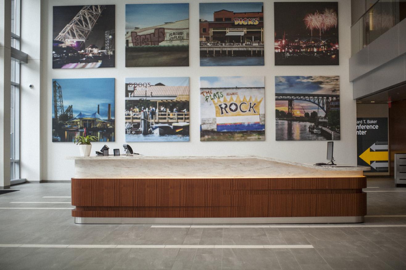 Flats East Bank Lobby