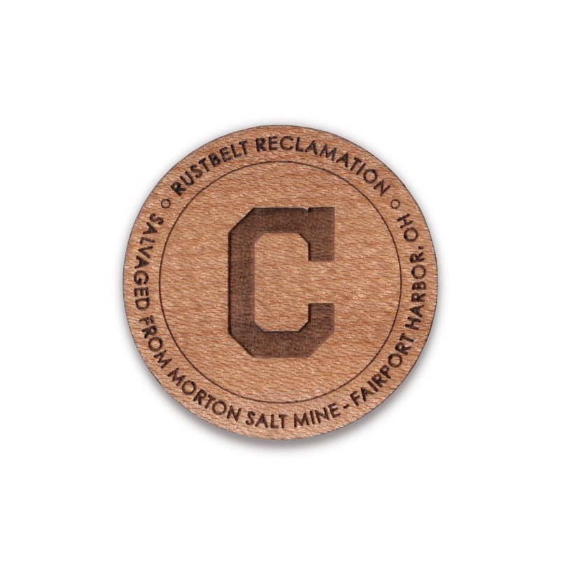 "CLEVELAND INDIANS ""C"" - 1.5""Ø MAPLE"