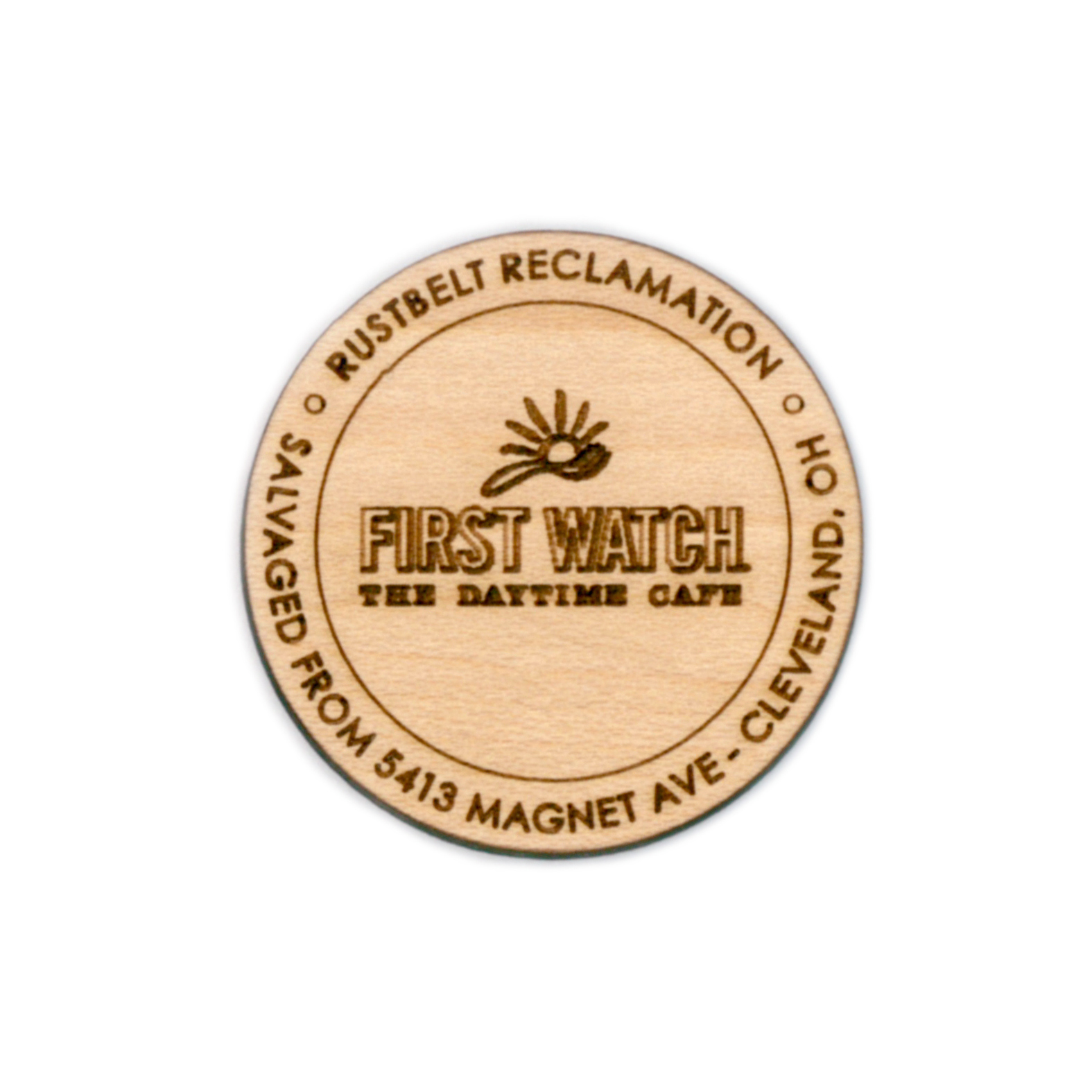 FIRST WATCH LOGO - 1.5ӯ MAPLE