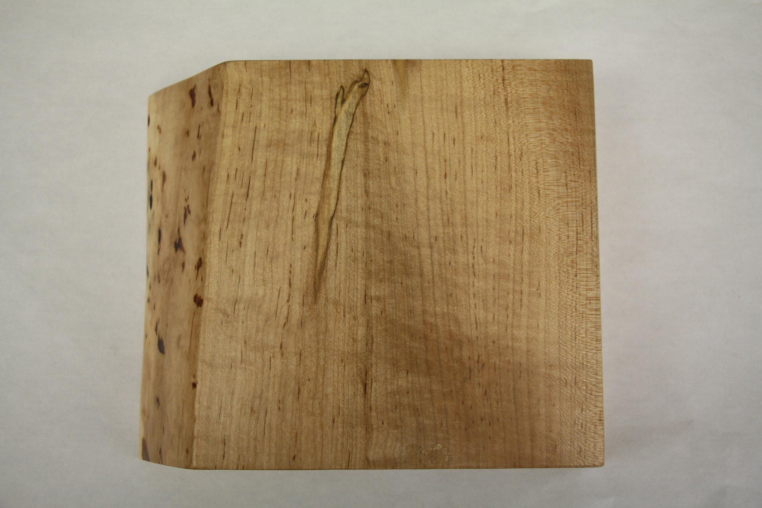 Ambrosia maple / live edge / natural / polyurethane / satin