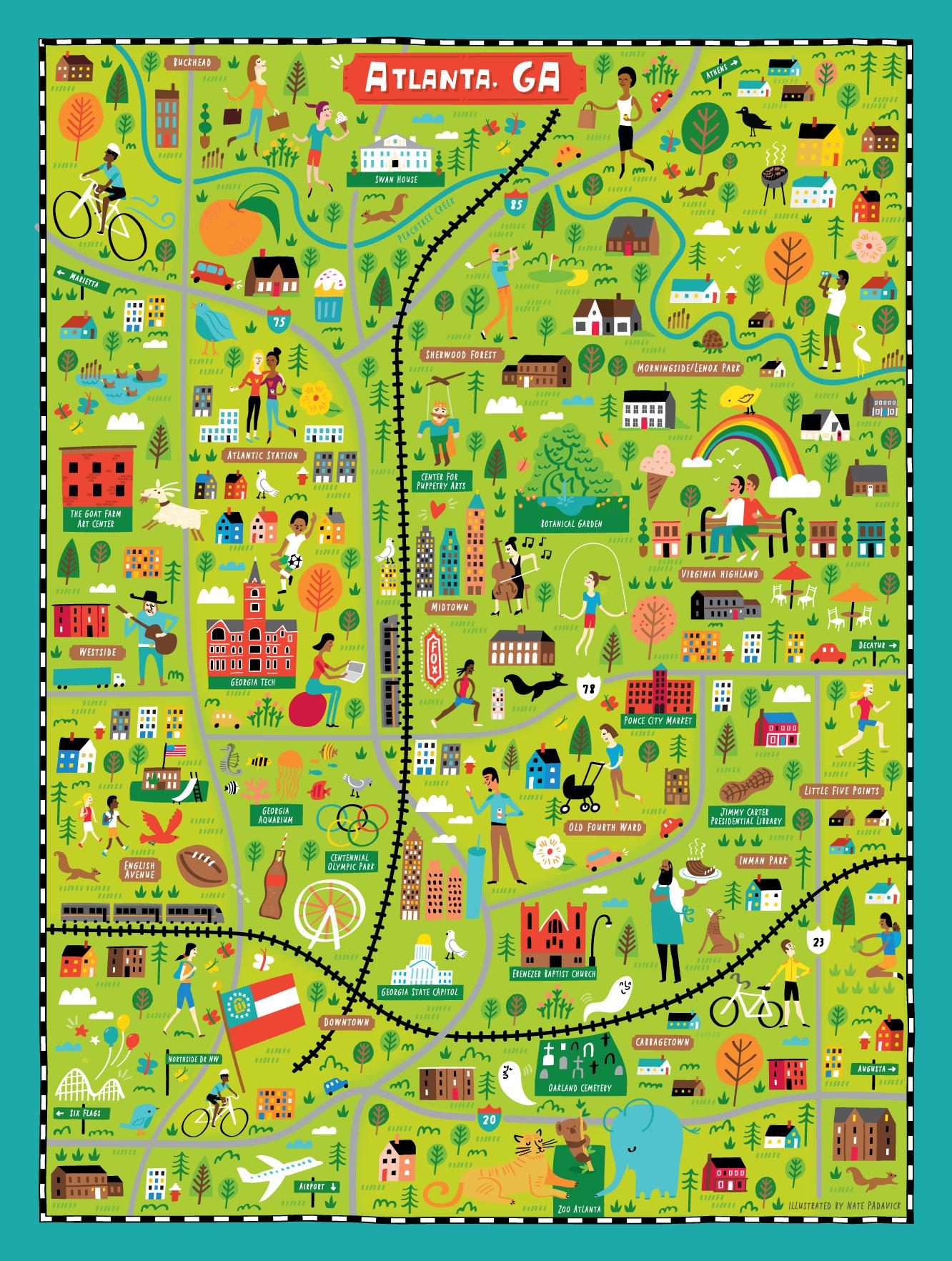 True South Puzzle Co. - Map location: Atlanta, GA