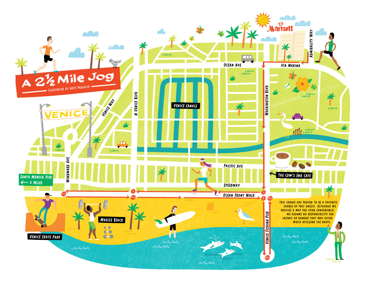 Marriot International - Map location: Venice, CA