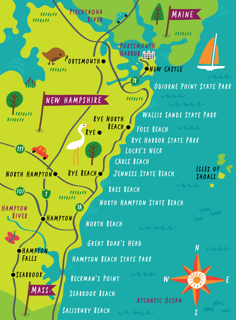 Yankee Magazine - Map Location: New Hampshire