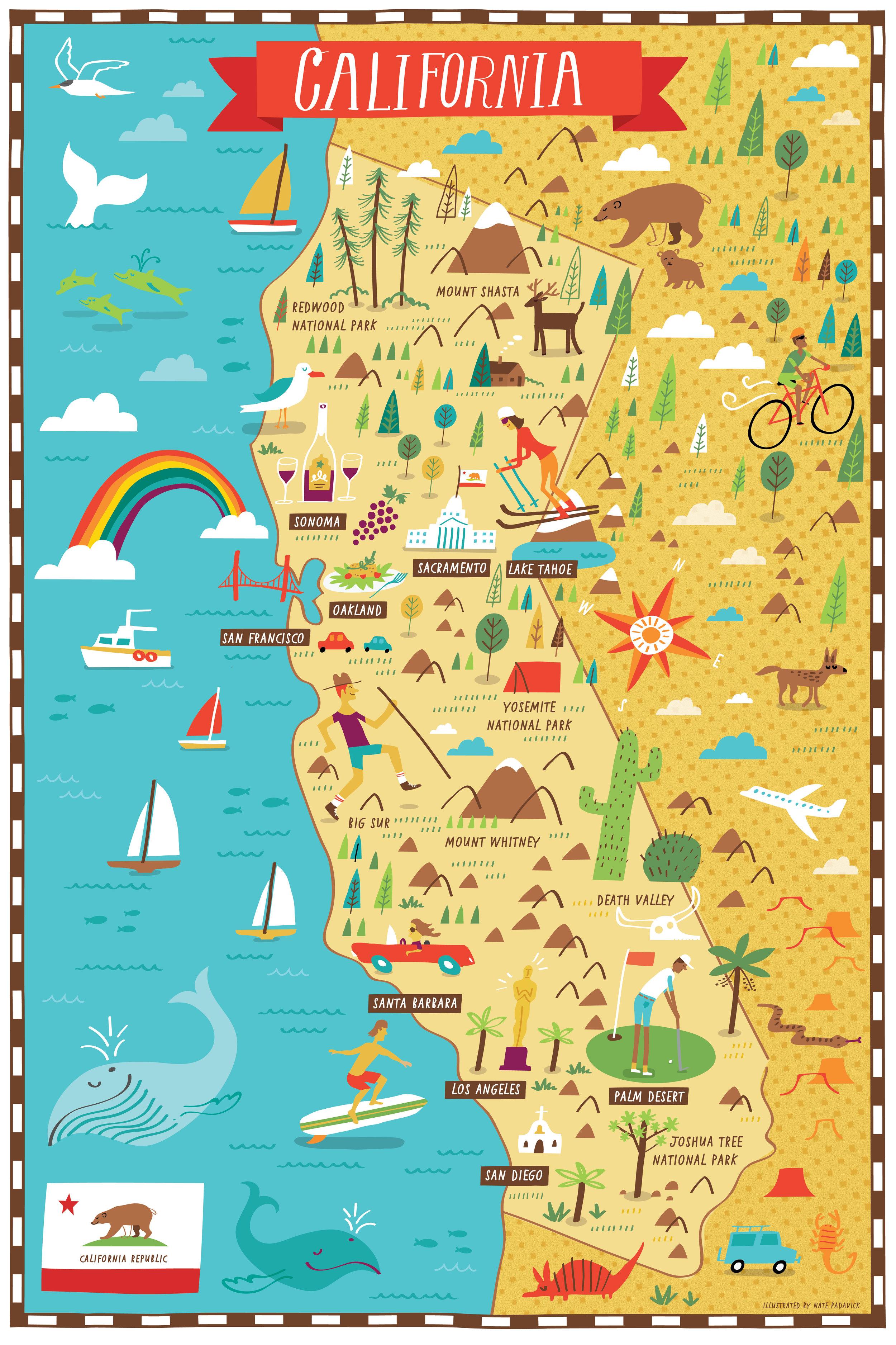 Waitrose Kitchen - Map location: California