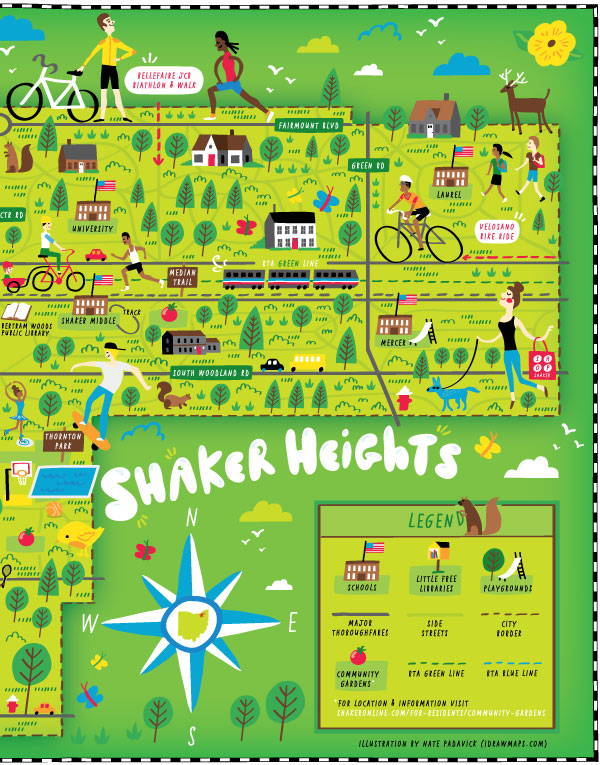 City of Shaker Heights, OH - Map location: Shaker Heights, OH