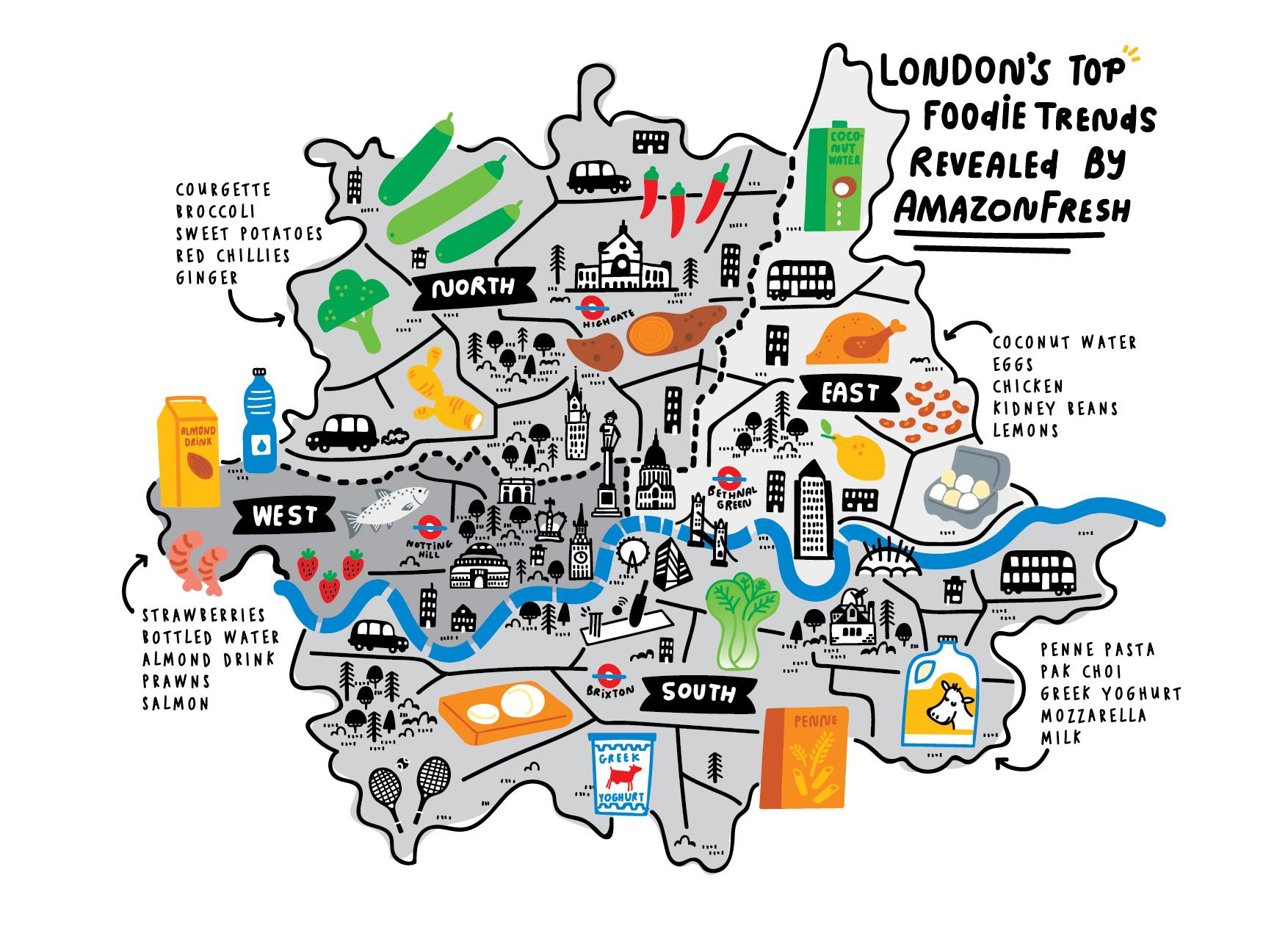 London map by Nate Padavick