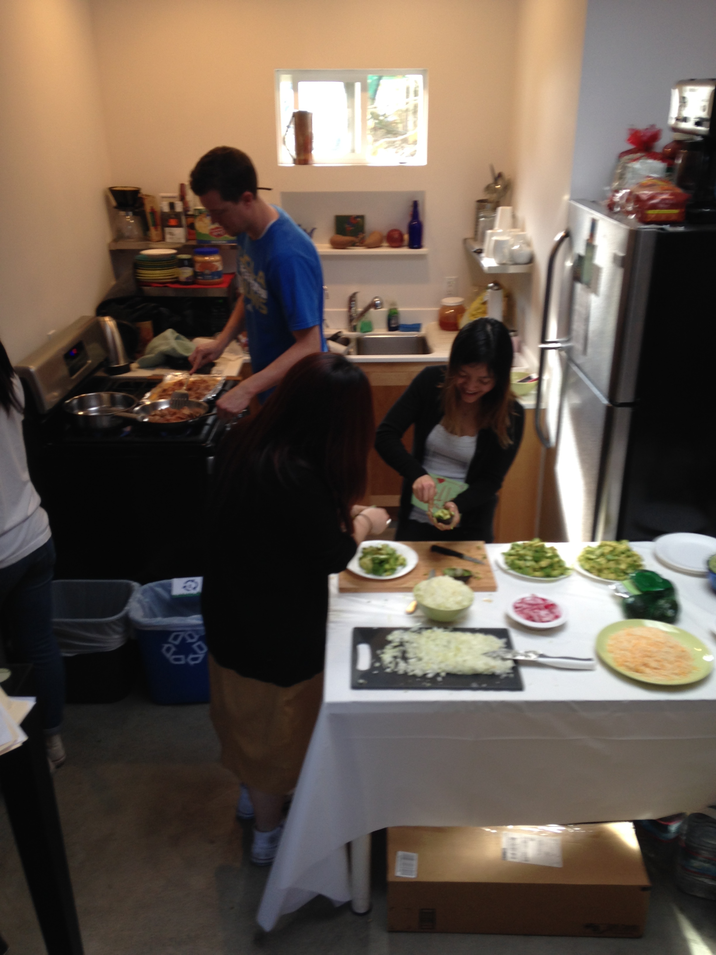 Shoutout to our behind-the-scenes folks, who are not only killin' the mentorship,but also the cooking game!