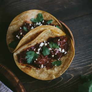 Winter 2017 Recipe Share - Braised Mole Beef Tacos