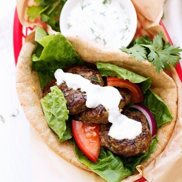 Fall 2017 Recipe Share - Lamb + Beef Greek Gyro
