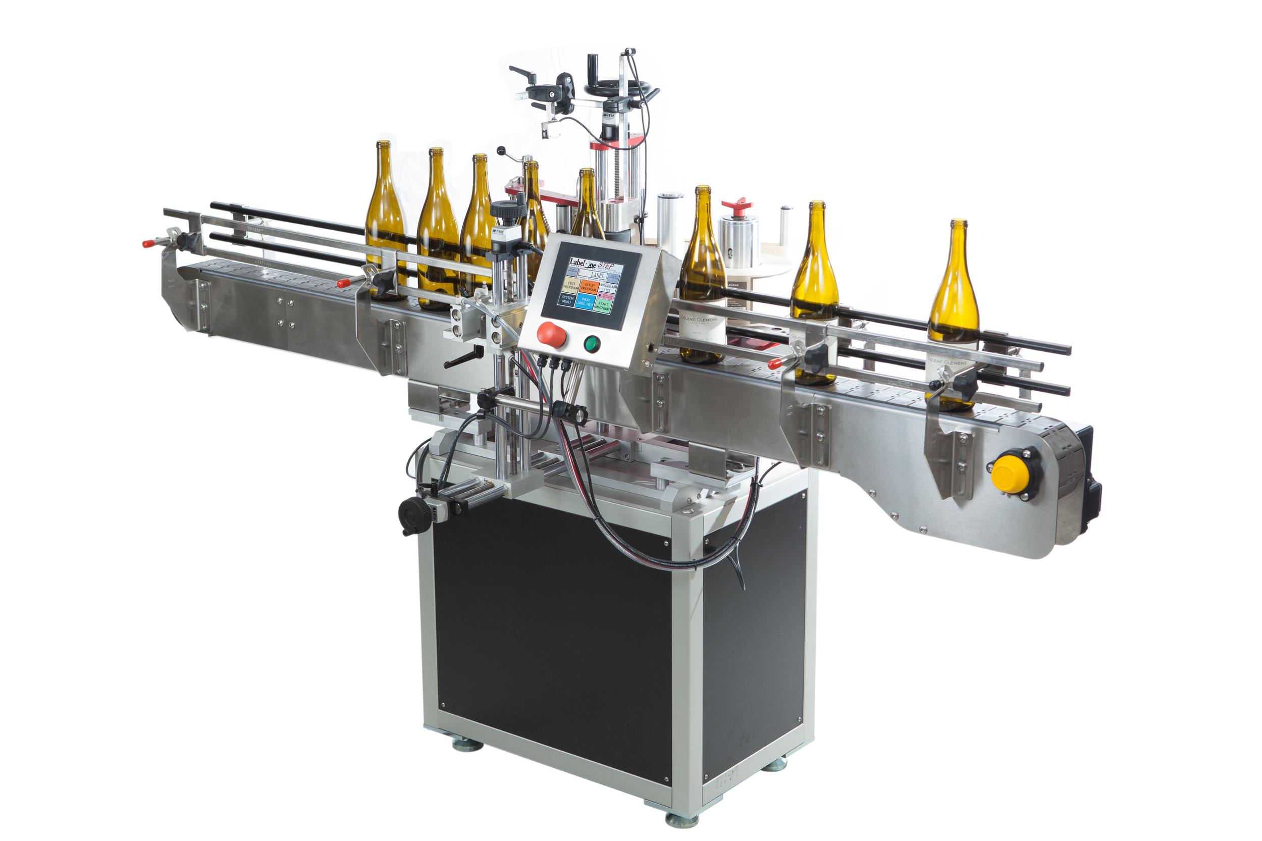 STEP Wine Bottle Labeling Machine