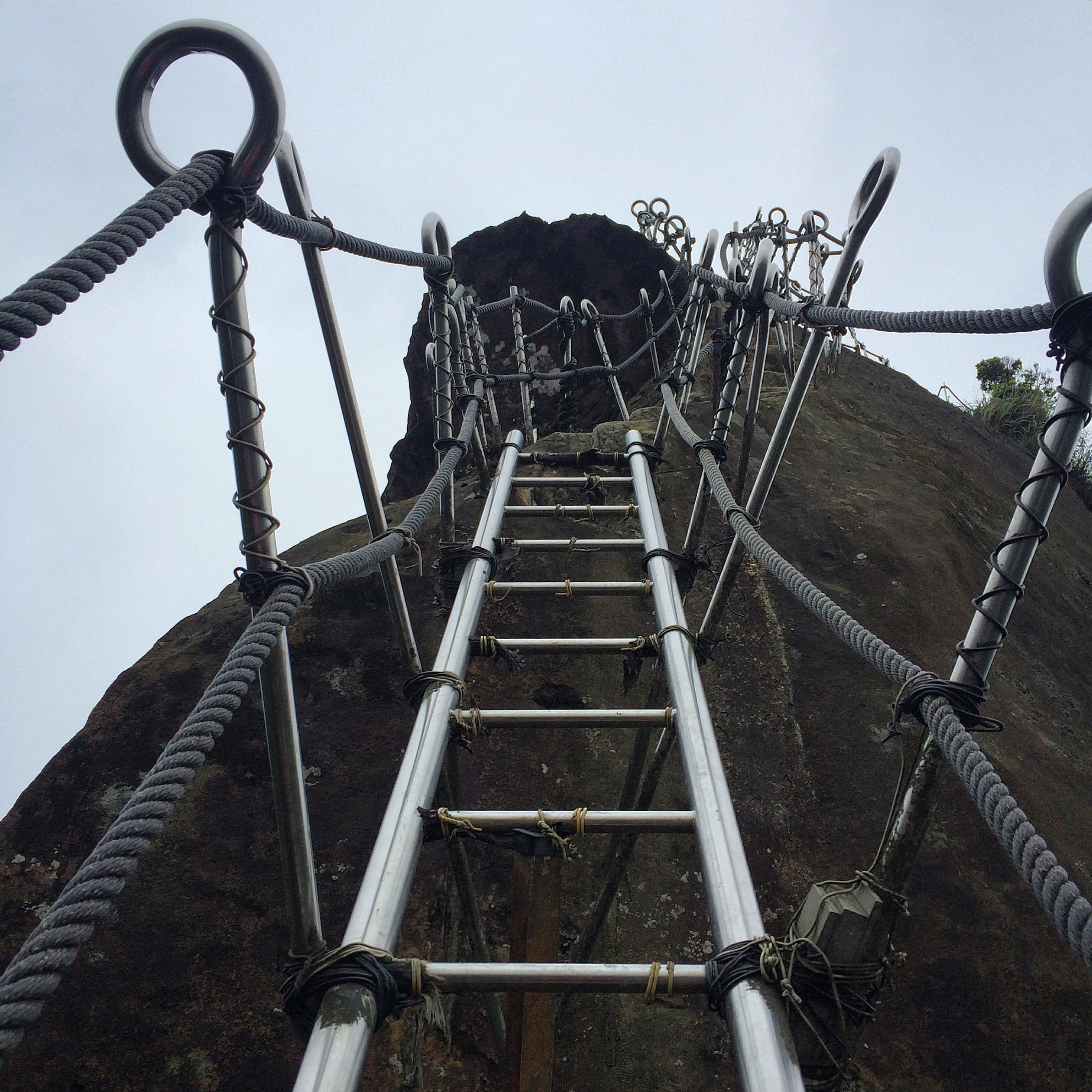 Chutes and Ladders to the top of Mt. Xiaozi