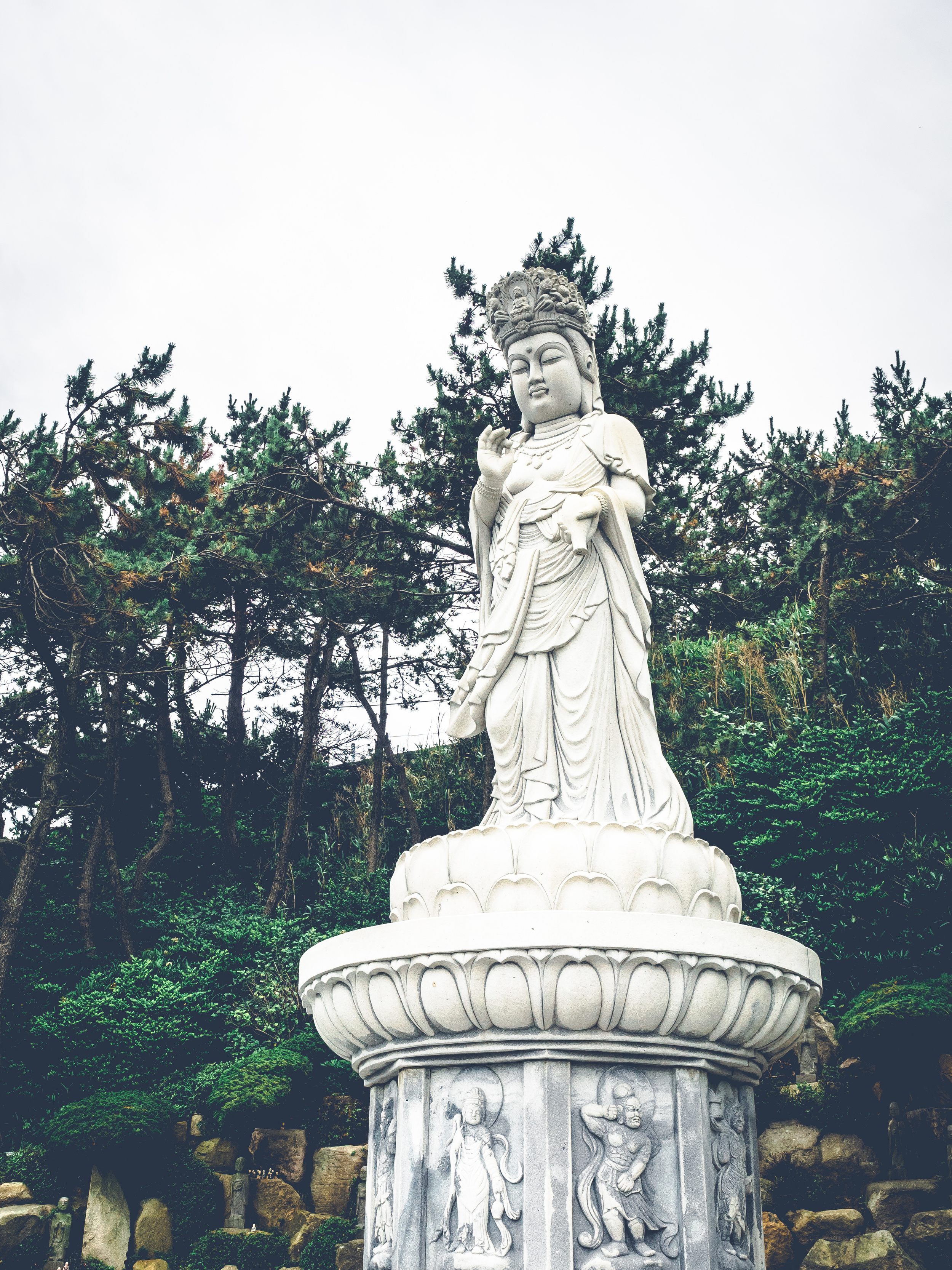 "The motto of Haedong Yonggungsa is ""At least one of your wishes will be answered here through your heartful prayers.""  Whether you believe or don't there is a sacred air to this place."