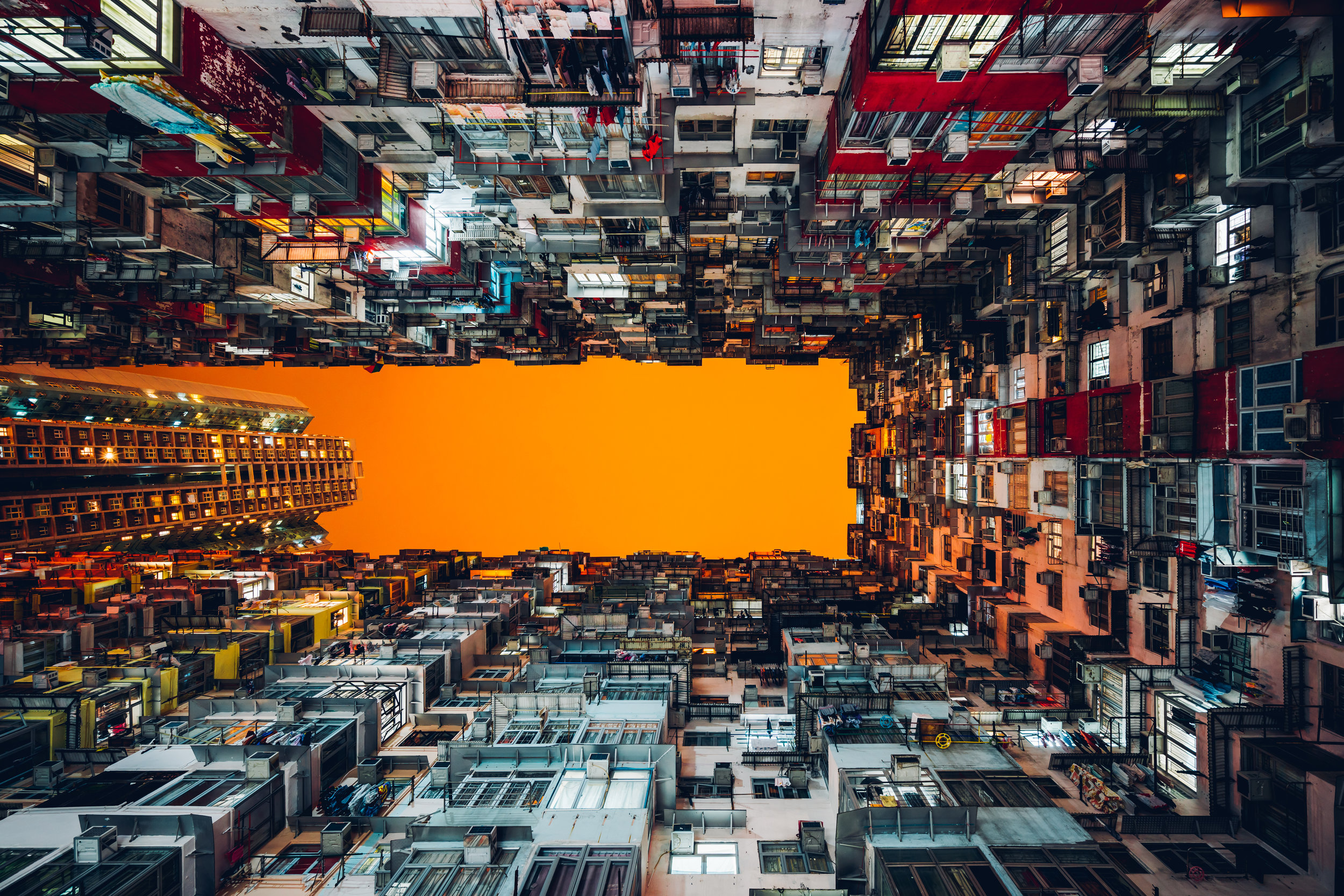 Hong Kong - I travel to Hong Kong quite a bit for work. The density of the city is unparalleled here, there beautiful mountains all around and the people are simply amazing. It's one of my favorite cities in the world.