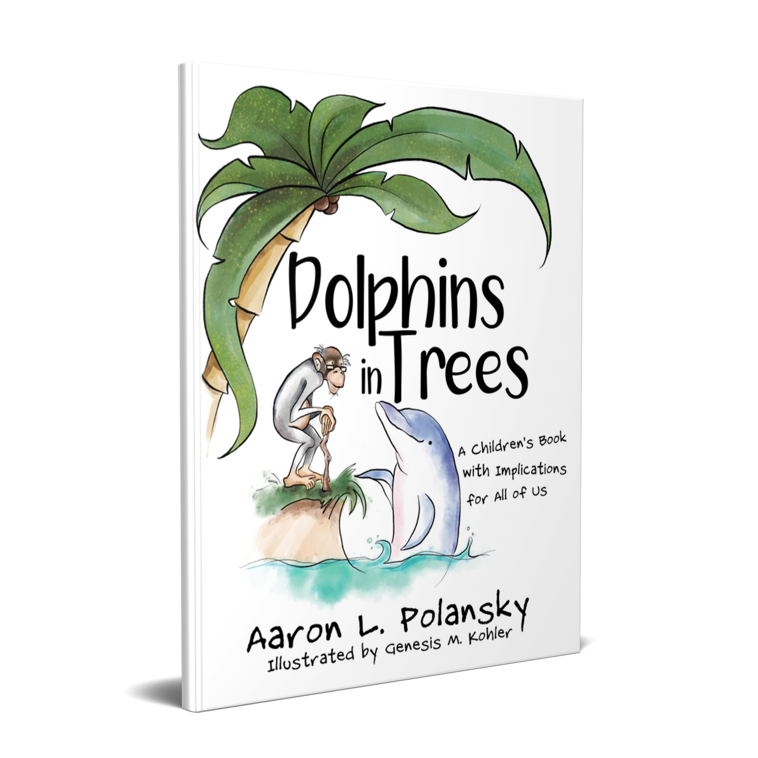 Dr. Seuss meets Tony Robbins in Dolphins in Trees, A Children's Book with Implications for All of Us. Growth mindset, self-efficacy, empathy, and the power of connection are all highlighted in this instant classic. Doplhins in Trees has been highlighted at conferences nationwide. Dizzy the Dolphin meets Mindful the Monkey after an unlikely chain of events. Lives are transformed as a friendship evolves in a masterpiece that will touch your heart in ways that children's books rarely do.