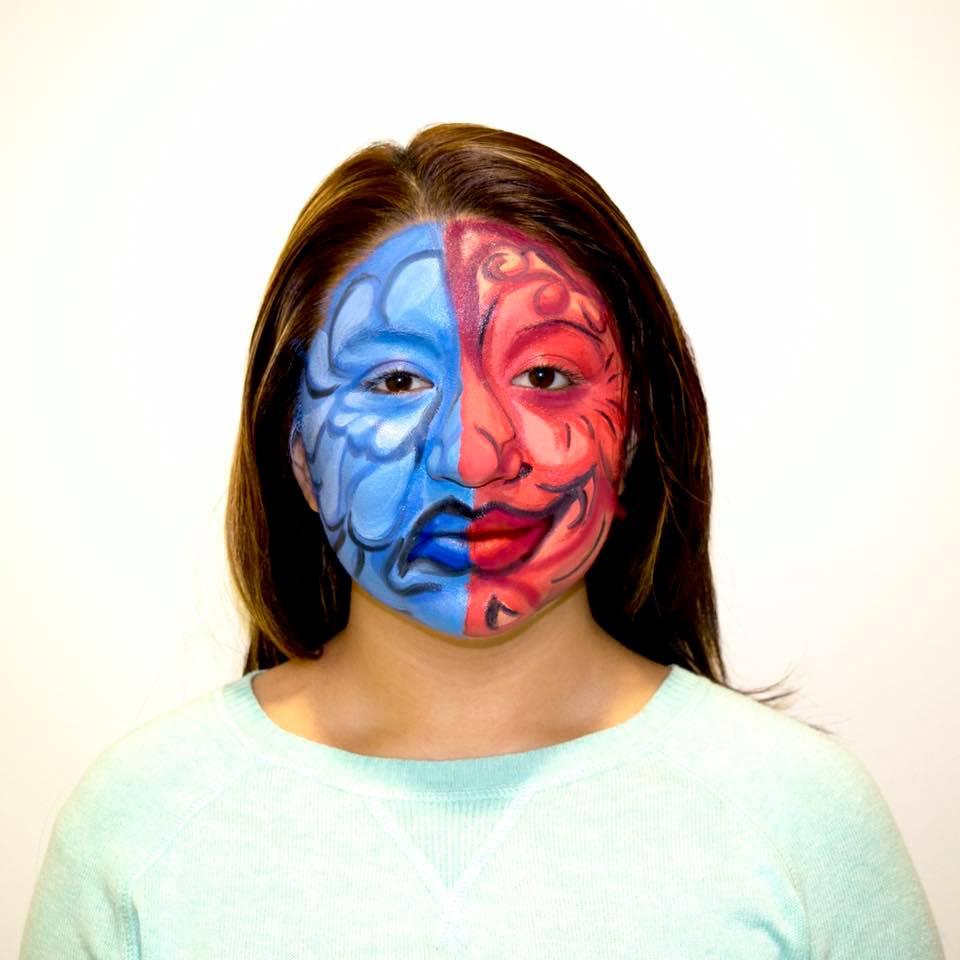 "Shreeya Tuladhar: ""Bipolar Disorder""  Makeup Artist: Kristen O'Neill"