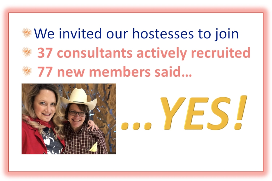 """We are getting better and better at offering the business to our hostesses. I've been using the green party cards to play the """"Ask Me About My Job"""" game at the end of every party. I raffle off a coffee cup, a coffee gift card, and a free Norwex prize for all the guests who participate."""
