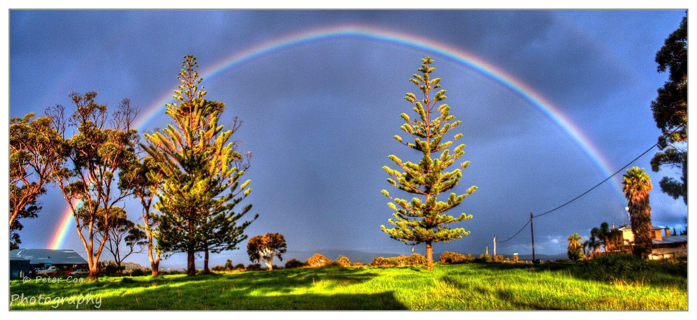Rainbow at Lower King