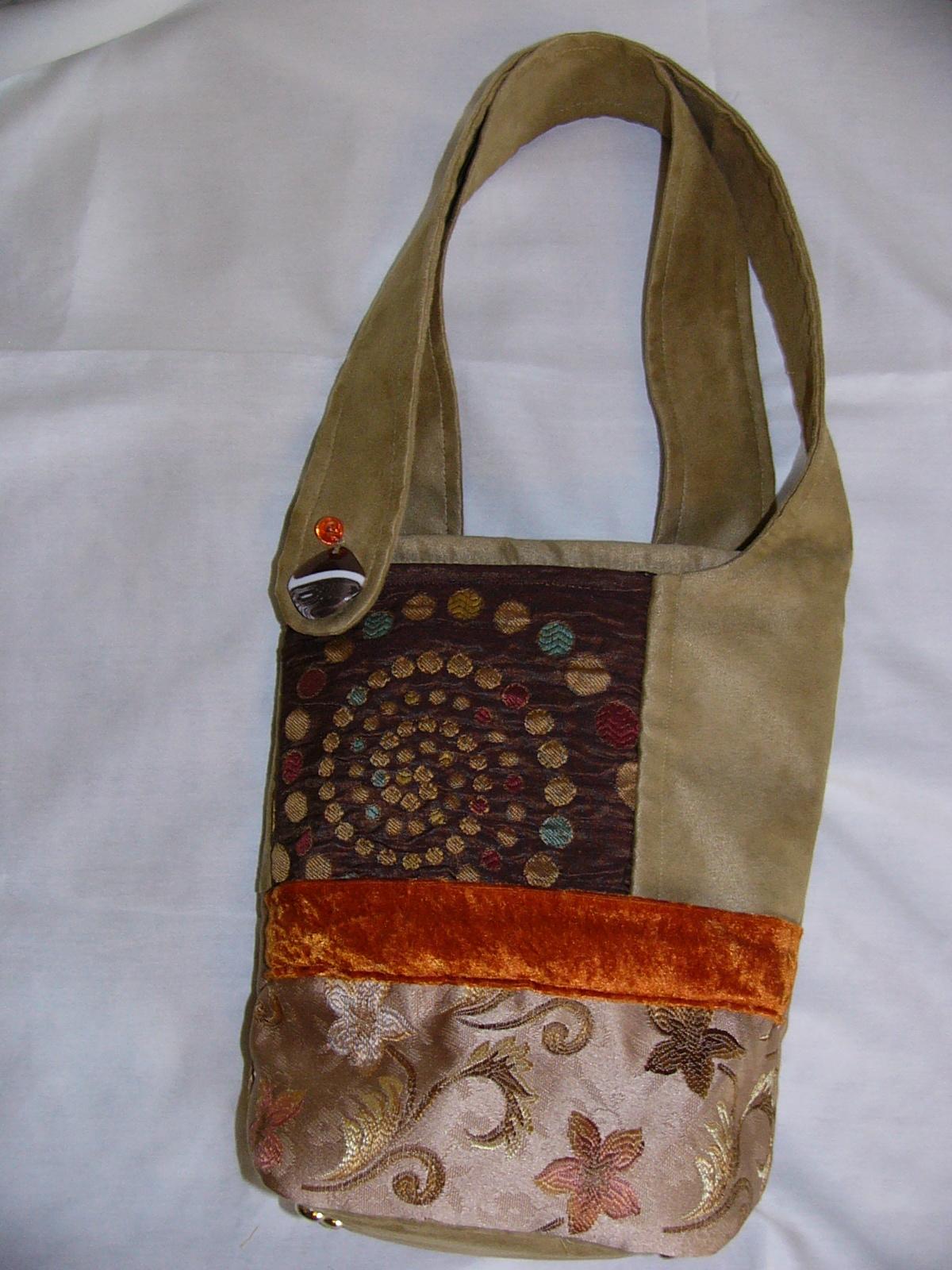 Fall Swirl Tote Bag