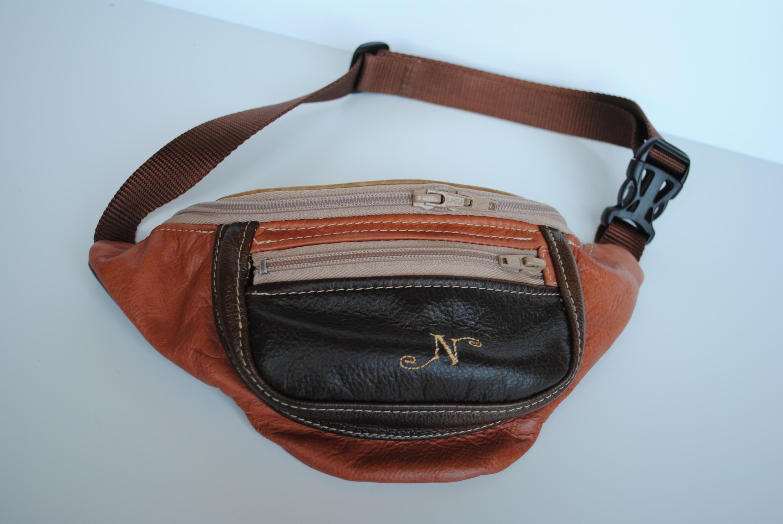 Sedona Waist Bag with 3 zippered pockets