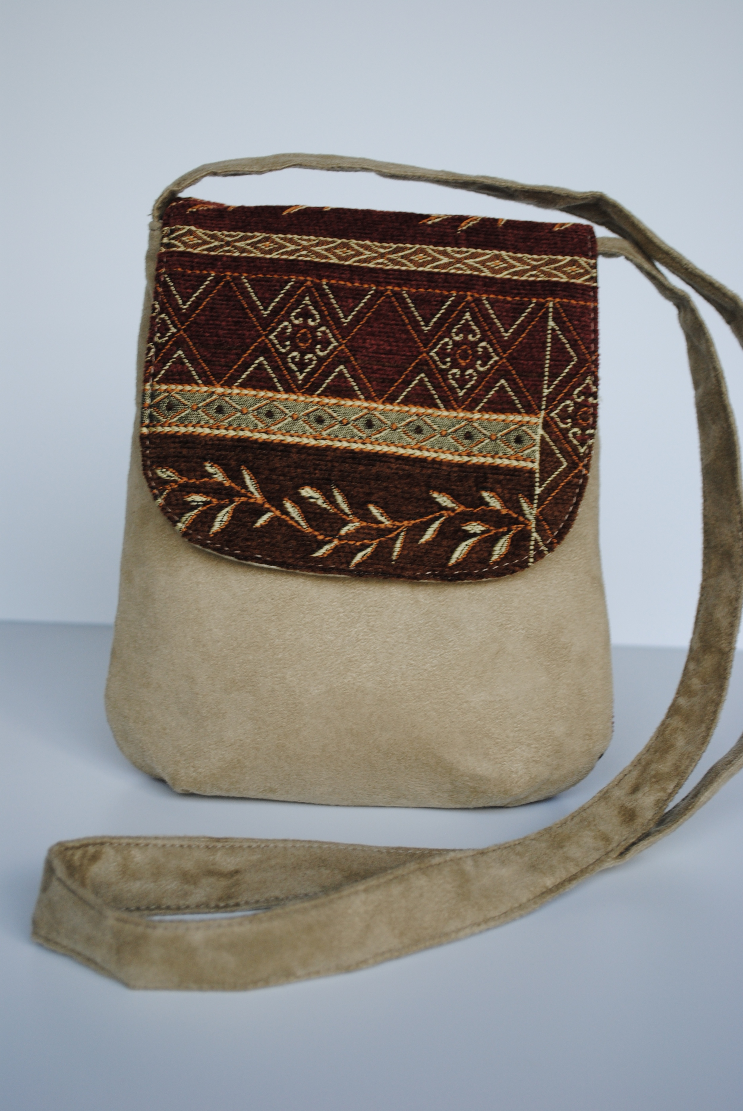 Autumn and Sage Flap Pocket Purse