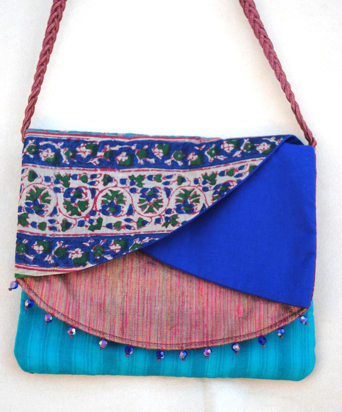 Chanchal Silk Triple Pocket