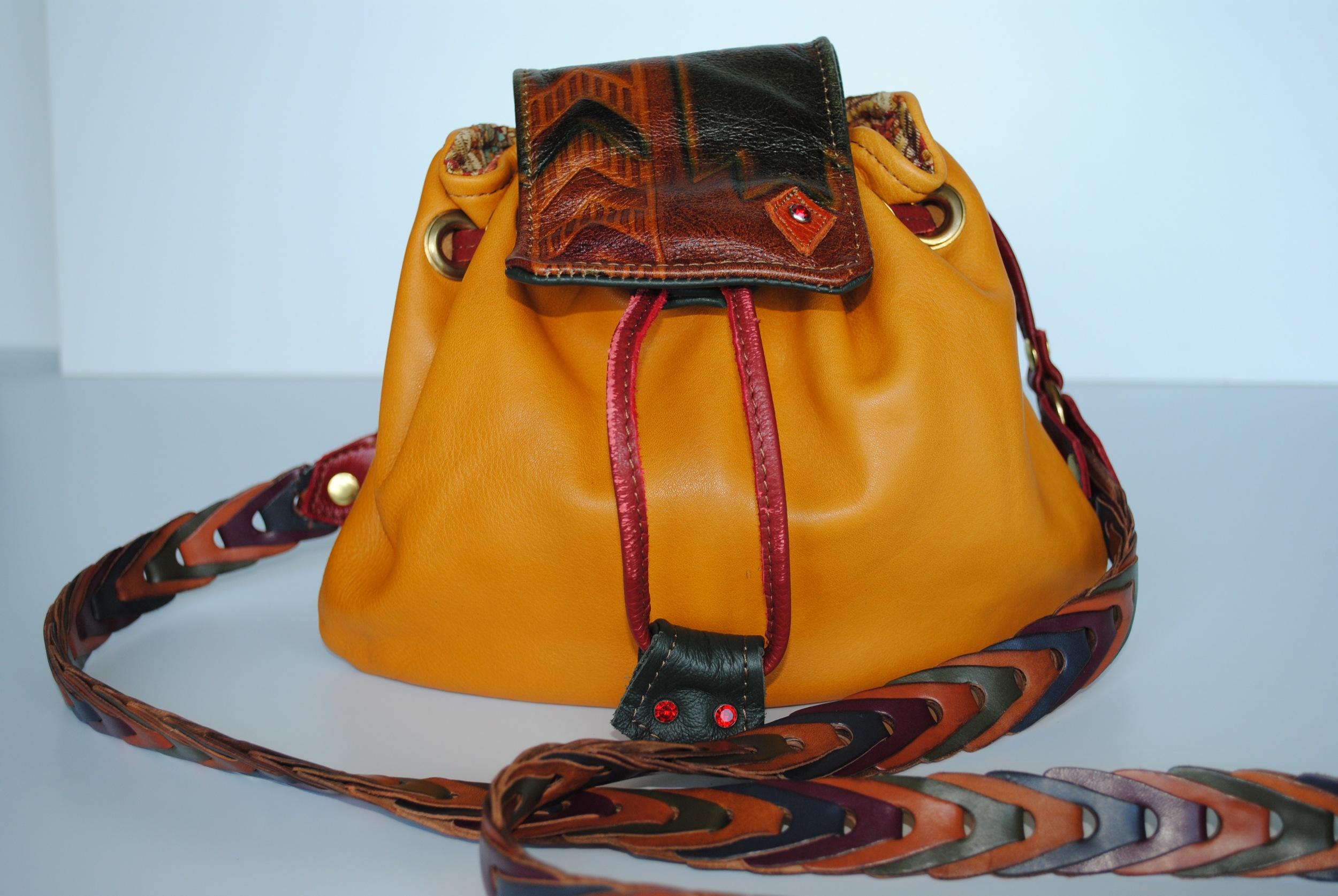 Haiwatha Leather Drawstring