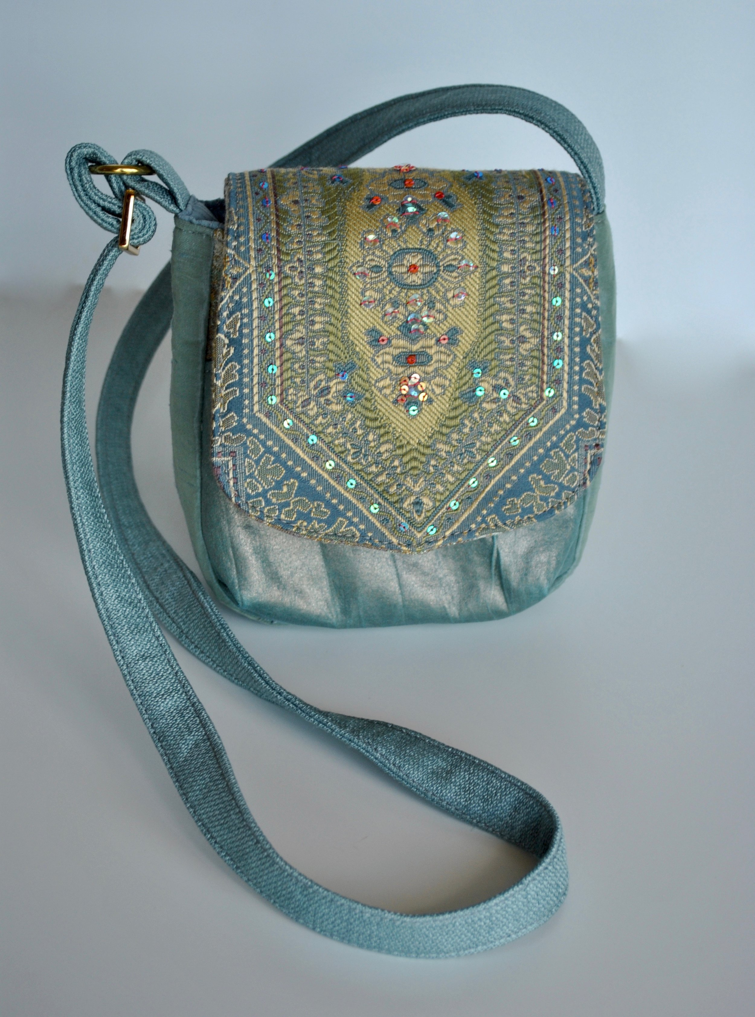 Turquoise Small Essential Crossbody