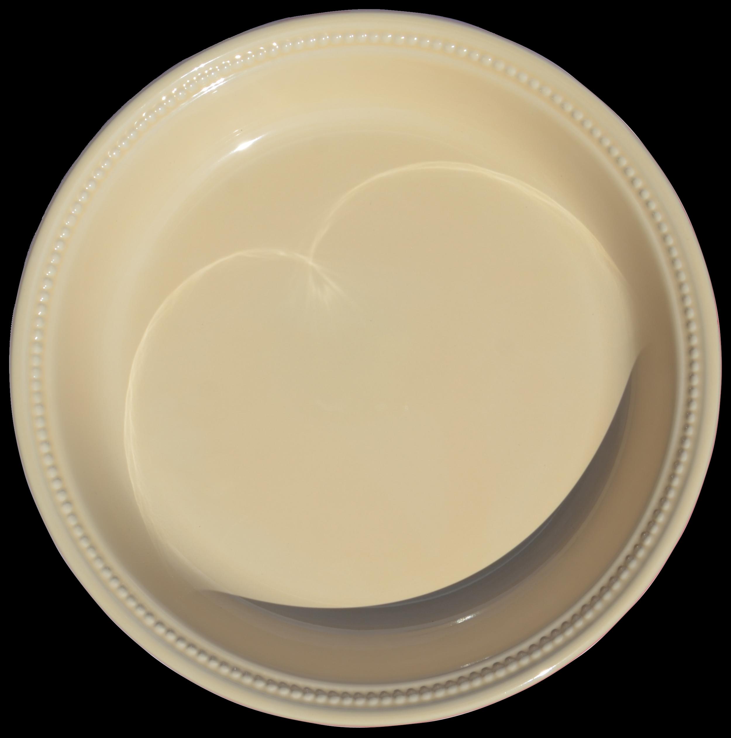 "Le Creuset Stoneware Pie Dish 10"" Cherry"