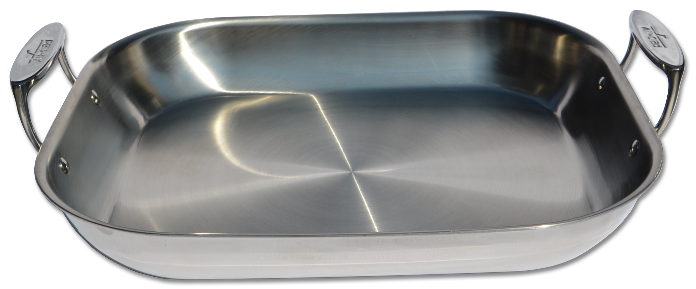 ALL-CLAD STAINLESS STEEL FLARED ROASTING PAN