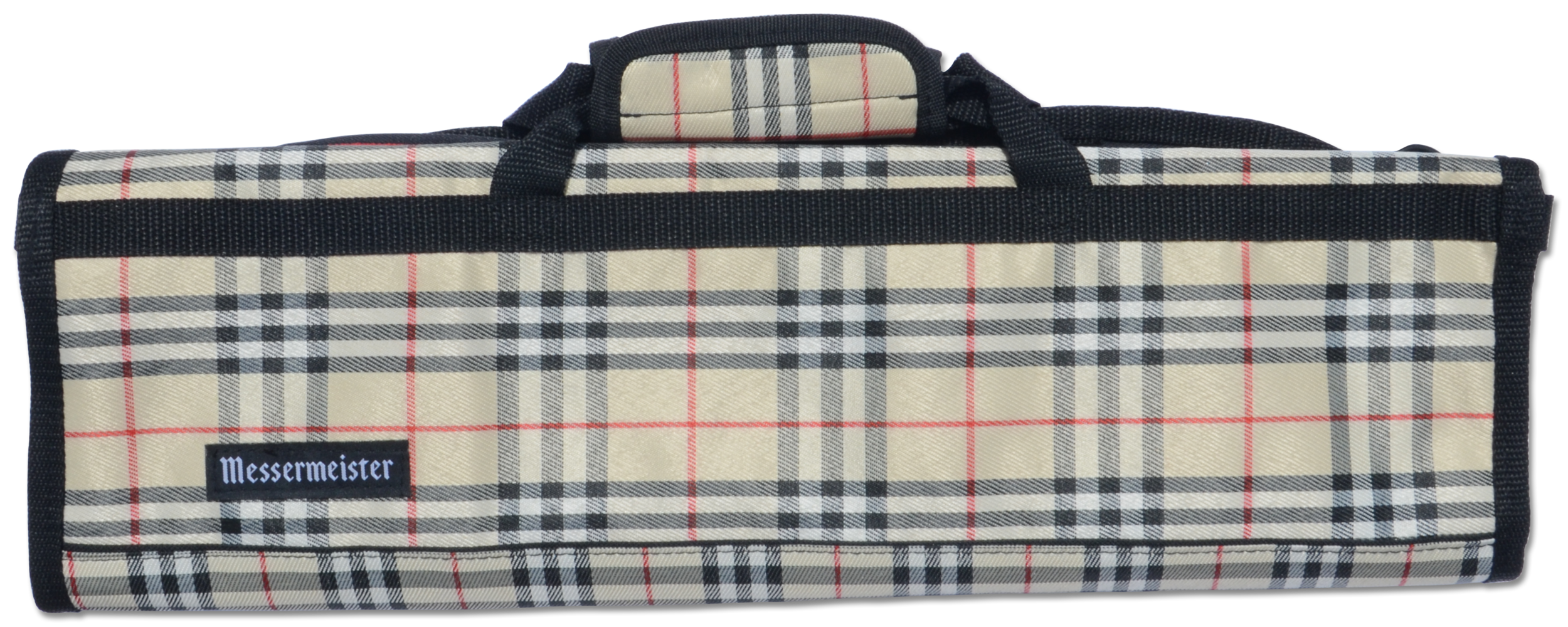 8 Pocket Deluxe Print Padded Knife Roll