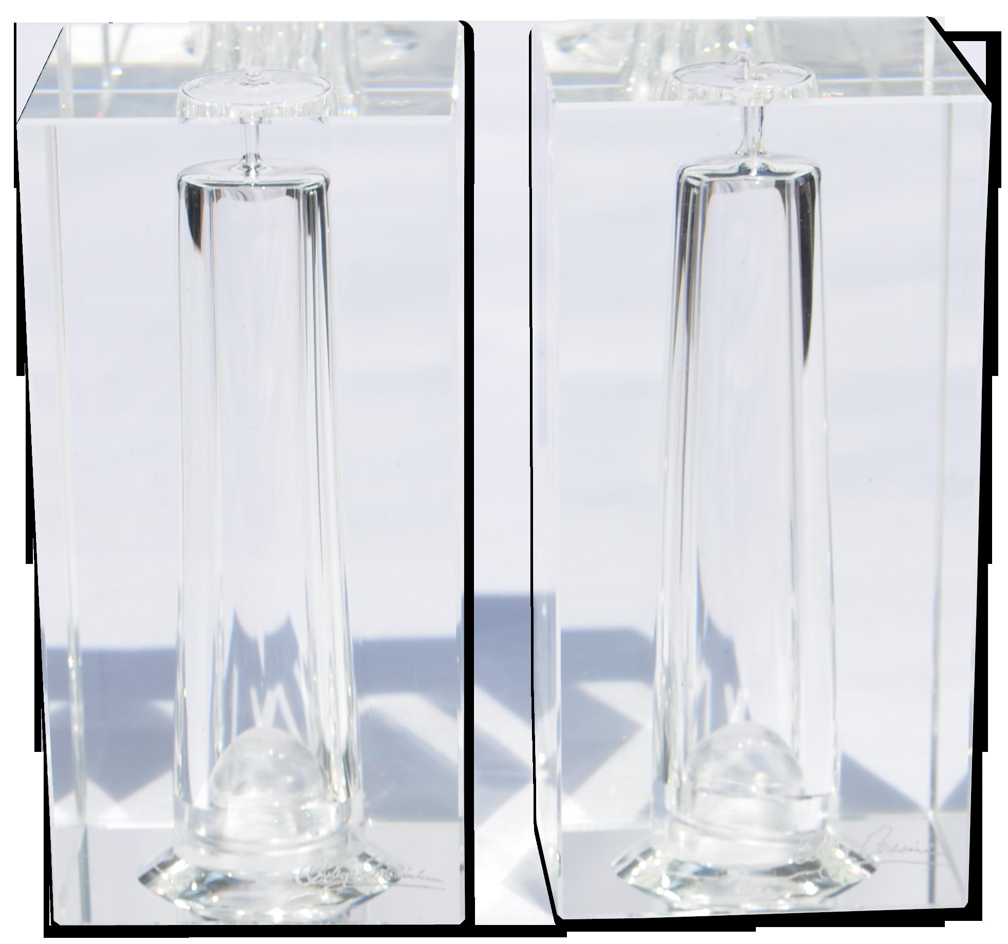Oleg Cassini Crystal Salt & Pepper Shaker