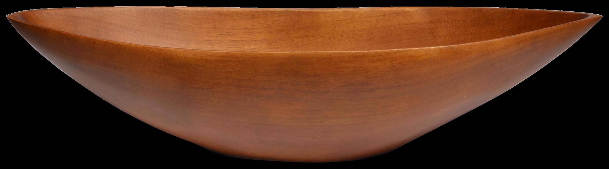Donna Karan Natural Boat Bowl