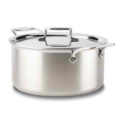 All-Clad Braising pot w/ Lid, Stainless 8Q