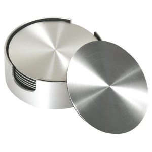 Stainless Steel Round Coasters