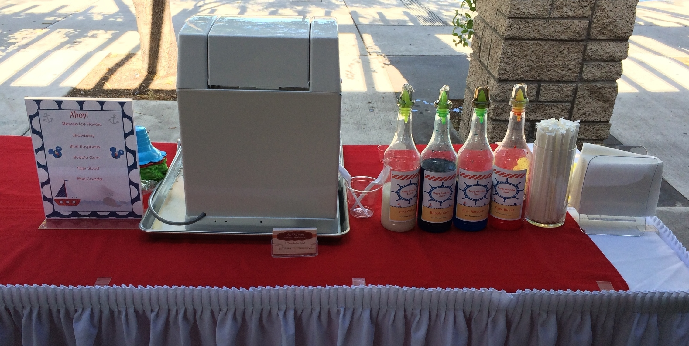 Shaved Ice Catering