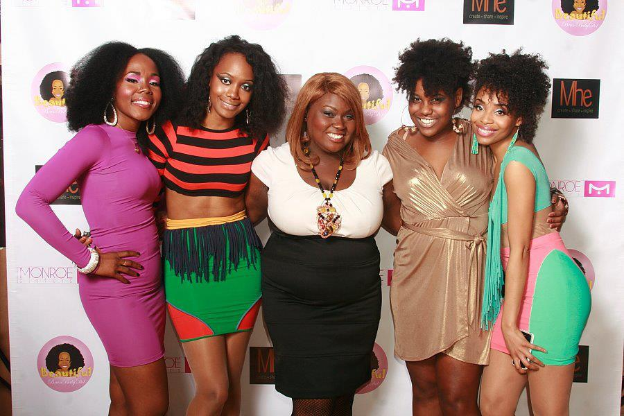 Sincerely Fearless Owners Marnelle & Kate Manoucheka Airey pictured with Meechy Monroe, MsVaughn and BeautifulBrwnBabyDol.
